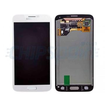 Full Screen Samsung Galaxy S5 TFT White