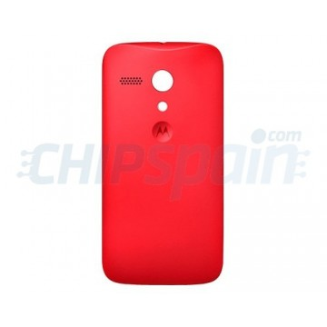 check out 7dd9f 2a09d Back Cover Battery Motorola Moto G -Red