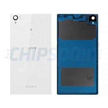 Cristal Trasero Sony Xperia Z1 -Blanco