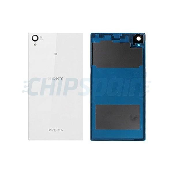 Cristal Trasero Sony Xperia Z1 Blanco Chipspain Com
