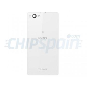 Cristal Trasero Sony Xperia Z1 Compact -Blanco