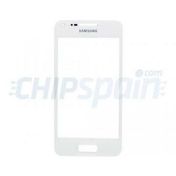 Cristal Exterior Samsung Galaxy S Advance -Blanco