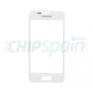 Exterior Glass Samsung Galaxy S Advance -White