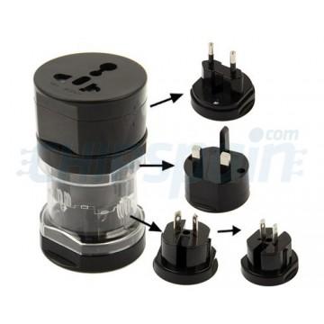 Viagens Universal Power Adapter -Preto