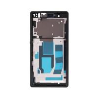 Central Frame Sony Xperia Z -Black