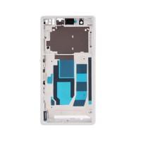 Central Frame Sony Xperia Z -White