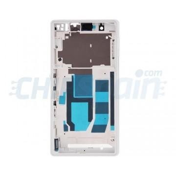 Central Frame Sony Xperia Z L36H C6603 White