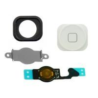 Botón Home Completo con Flex iPhone 5 -Blanco