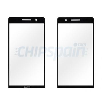 Cristal Exterior Huawei Ascend P6 -Negro