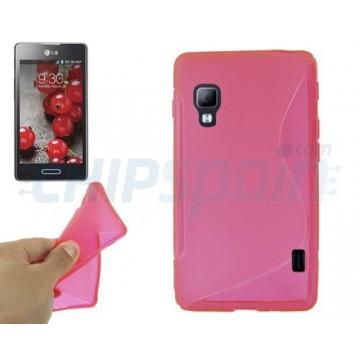 TPU Case S-Line LG Optimus L5 II -Magenta