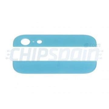 Cristales Superior e Inferior iPhone 5 Azul Claro