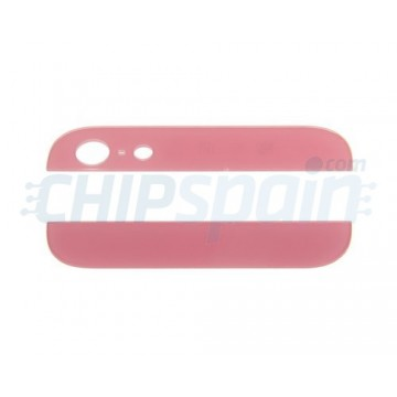 Alto e Baixo Cristal iPhone 5 -Rosa
