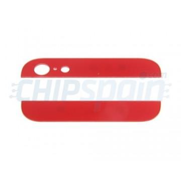Alto e Baixo Cristal iPhone 5 - Vermelho