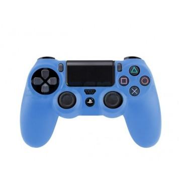 Funda de Silicona Mando PlayStation 4 Azul