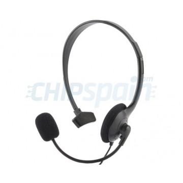 Auricular Mono con Micrófono y Control de Volumen PlayStation 4