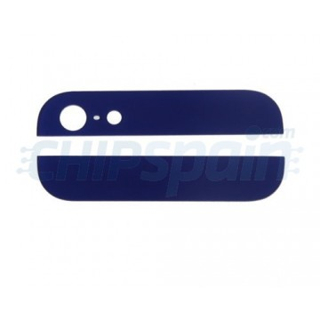Alto e Baixo Cristal iPhone 5 -Azul Escuro