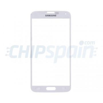 Cristal Exterior Samsung Galaxy S5 -Blanco