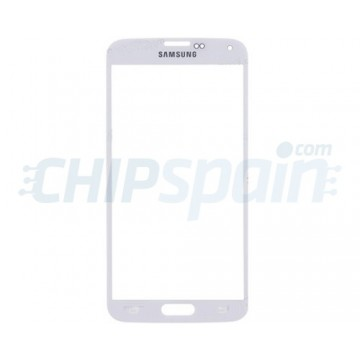 Exterior Glass Samsung Galaxy S5 -White