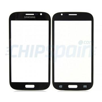 Cristal Exterior Samsung Galaxy Grand/Grand Duos -Azul