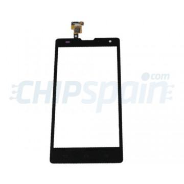 Vidro Digitalizador Táctil Huawei Ascend G740/Orange Yumo/Honor 3C -Preto