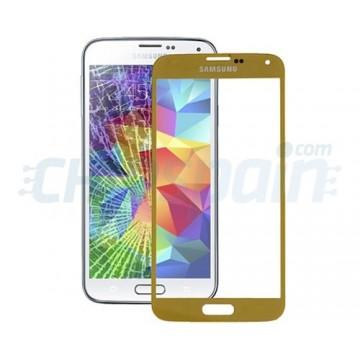 Vidro Exterior Samsung Galaxy S5 -Ouro