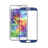 Exterior Glass Samsung Galaxy S5 -Blue