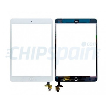 Vidro Digitalizador Táctil iPad Mini/iPad Mini 2 con IC -Branco