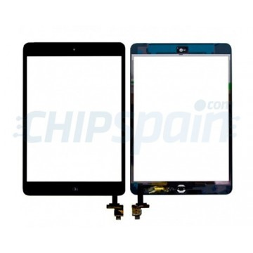 Pantalla Táctil iPad Mini/iPad Mini 2 con IC - Negro