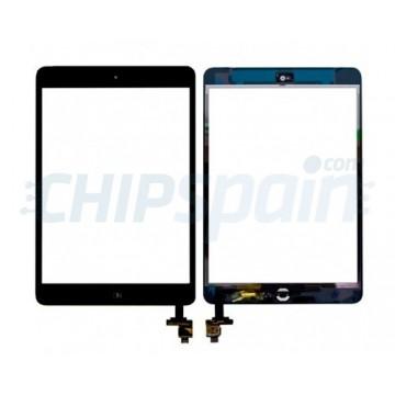 Vidro Digitalizador Táctil iPad Mini/iPad Mini 2 con IC -Preto