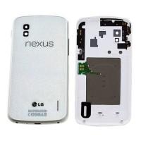 Carcasa Trasera Original Nexus 4 con NFC -Blanco