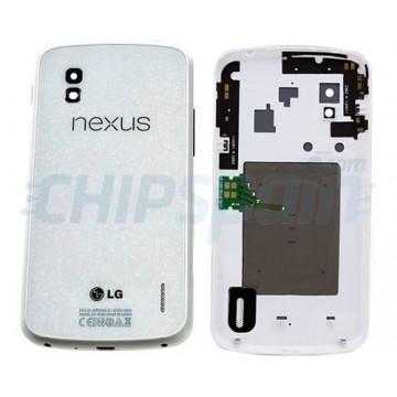 Tampa Traseira Nexus 4 com NFC -Branco