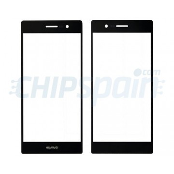 Exterior Glass Huawei Ascend P7 -Black