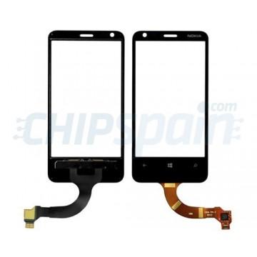 Vidro Digitalizador Táctil Nokia Lumia 620 (Rev 1.3) -Preto