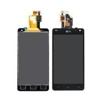 Full Screen LG Optimus G -Black