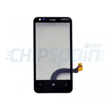 Touch Screen with Frame Nokia Lumia 620 (Rev 4.0) -Black