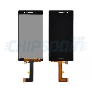 Ecrã Tátil Completo Huawei Ascend P7 -Preto