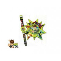Ben 10: Set Regalo Reloj y Despertador