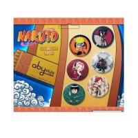 Naruto: Pack de Pin's Konoha 1x6
