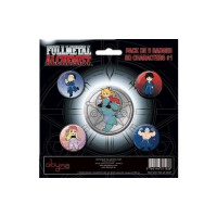 Full Metal Alchemist: Pack de 5 Chapas