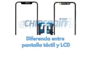 Diferencia entre pantalla táctil y pantalla LCD